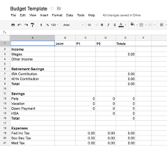 marvelous money tracking your budget with google docs em for
