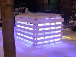 Outdoor Lit Nativity Scene by Pallet Light Box Fireplace Or Postmodern Nativity Scene U2022 1001