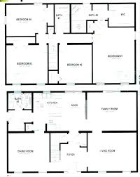 4 bedroom open floor plans simple open floor house plans sun valley homes floor plans basic