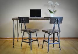 hairpin table legs raw steel 3 rod leveling feet barn xo