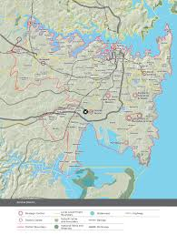 Ups Transit Map Our Vision Central District 2036 Greater Sydney Commission