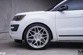 Ford Explorer Upgrades - cruising in style with the ford explorer and niche wheels