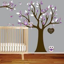 Nursery Owl Wall Decals Baby Owl Nursery Thenurseries
