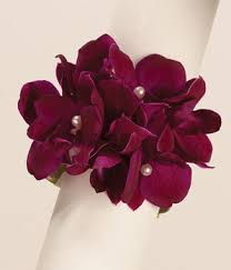 purple corsage purple reigns wrist corsage at from you flowers