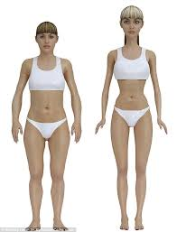 barbie 3d model woman waist