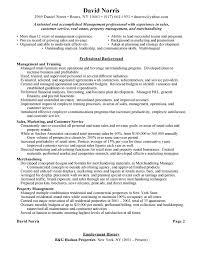 sample retail resume template retail and restaurant associate