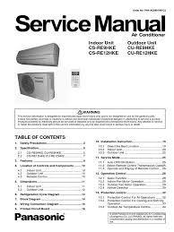 cs re912hke manual pdf air conditioning hvac
