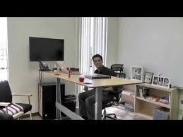 take a look at my stand up desk adjustable height desk youtube