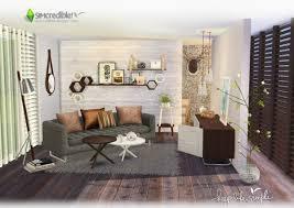 simcredible designs keep life simple livingroom u2022 sims 4 downloads