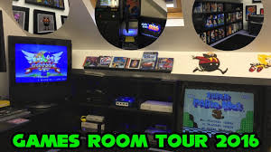 games room 2016 man cave retro gaming setup u0026 tour youtube