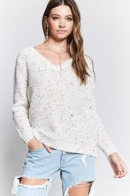 ribbed twist hem sweater forever21