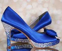 wedding shoes royal blue blue wedding shoes will never make your special day blue