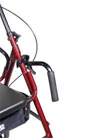Transport Walker Chair Duet Rollator Transport Chair Free Shipping