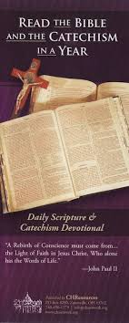 read the bible and the catechism in a year the coming home network