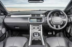 land rover evoque interior new land rover range rover evoque convertible 2 0 td4 hse dynamic