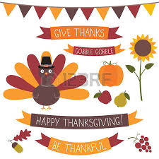 7 273 happy thanksgiving banner cliparts stock vector and royalty