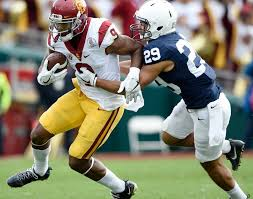 Michael Hutchings Usc Rose Bowl Grades Smith Schuster Darnold Lead Usc Over Penn State