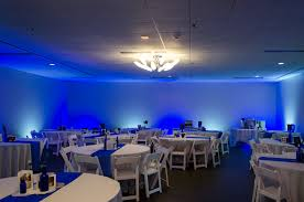blue and white led lights for wedding reception color changing