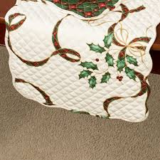 Holiday Table Runners by Lenox Holiday Nouveau Quilted Table Linens