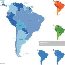 south america map bolivia south america map vector getty images