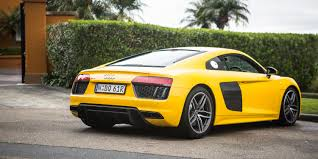Audi R8 Yellow 2016 - 2017 audi r8 v10 review caradvice