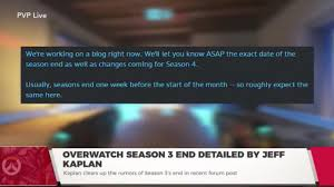 when does the pokemon go halloween event end overwatch update blizzard teases huge changes but denies making
