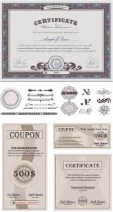 certificate templates vector vector graphics blog