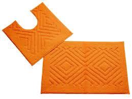 Orange Bathroom Rugs by Amazon Com Better Trends Pan Overseas Trier 140 Gsf 100 Percent