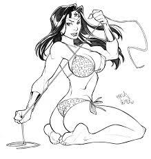 wonder woman sketch by carlosgomezartist on deviantart