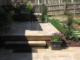 Patio Vs Deck by Stone Patio Archadeck Of Charlotte