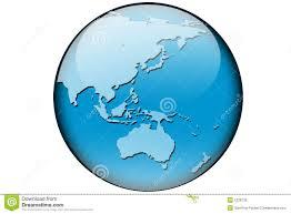 World Map Australia by World Map Asia And Australia Stock Photo Image 5326730