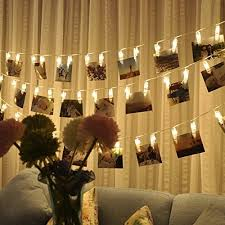string lights with picture clips 20 led photo clips string lights christmas lights starry light wall
