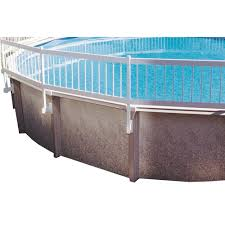 gli pool products above ground pool fence kit 8 section ne145