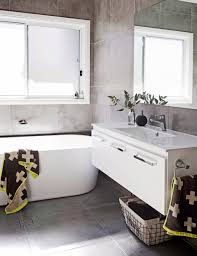 bathroom white ceramic floor flower vase bathroom mirror short