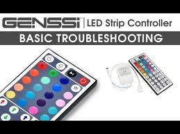 genssi rgb led with 44 key ir remote guide