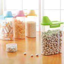 aliexpress com buy 4 color kitchen plastic storage canisters