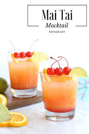 mai tai mocktail party punch liz on call