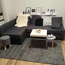 vilasund recamiere furniture home friheten three seat sofa bed skiftebo dark grey