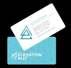logo design elevation ally branding project from roundpeg
