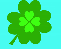 four leaf clover 4 leaf clover four art clipart clipartix