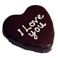 heart chocolate heart chocolate cake half kg gift heart chocolate cake half kg