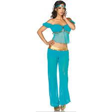 Plus Size Halloween Costumes Arabian Beauty Womens Halloween Costume Jasmine Costume