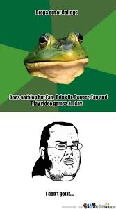 Bachelor Frog Memes - foul bachelor frog by acidnightshade meme center