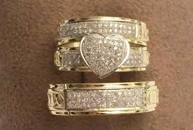 cheap wedding rings sets for him and wedding rings trio wedding ring sets jared cheap wedding rings
