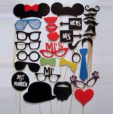 wedding party supplies party supplies diy party masks photo booth props mustache on a