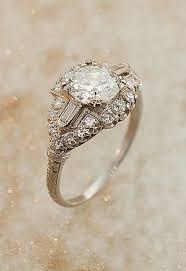 watch 100 years of engagement rings art deco diamond rings