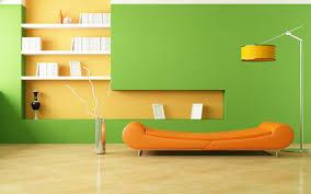 Interior Green Green Orange Bedroom Descargas Mundiales Com