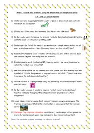 free multiplication word problems multiplication word problems year 5 by traine3 teaching