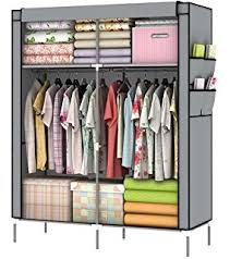 amazon com blissun portable clothes closet wardrobe storage