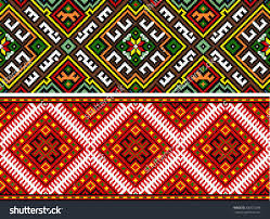 ukrainian ornaments stock vector 300575348